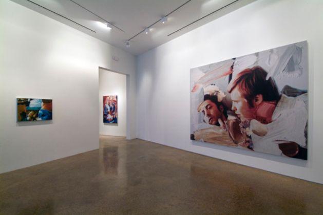 Richard Patterson. Installation view at Goss Gallery, Dallas
