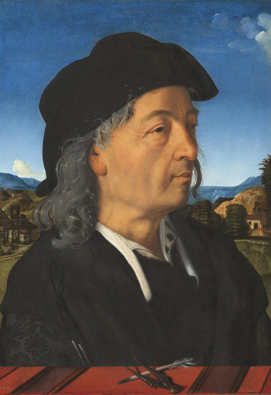 Ritratto di Giuliano eseguito dall'amico Piero di Cosimo. Parte di un dittico col ritratto del padre - ph. by Wikipedia