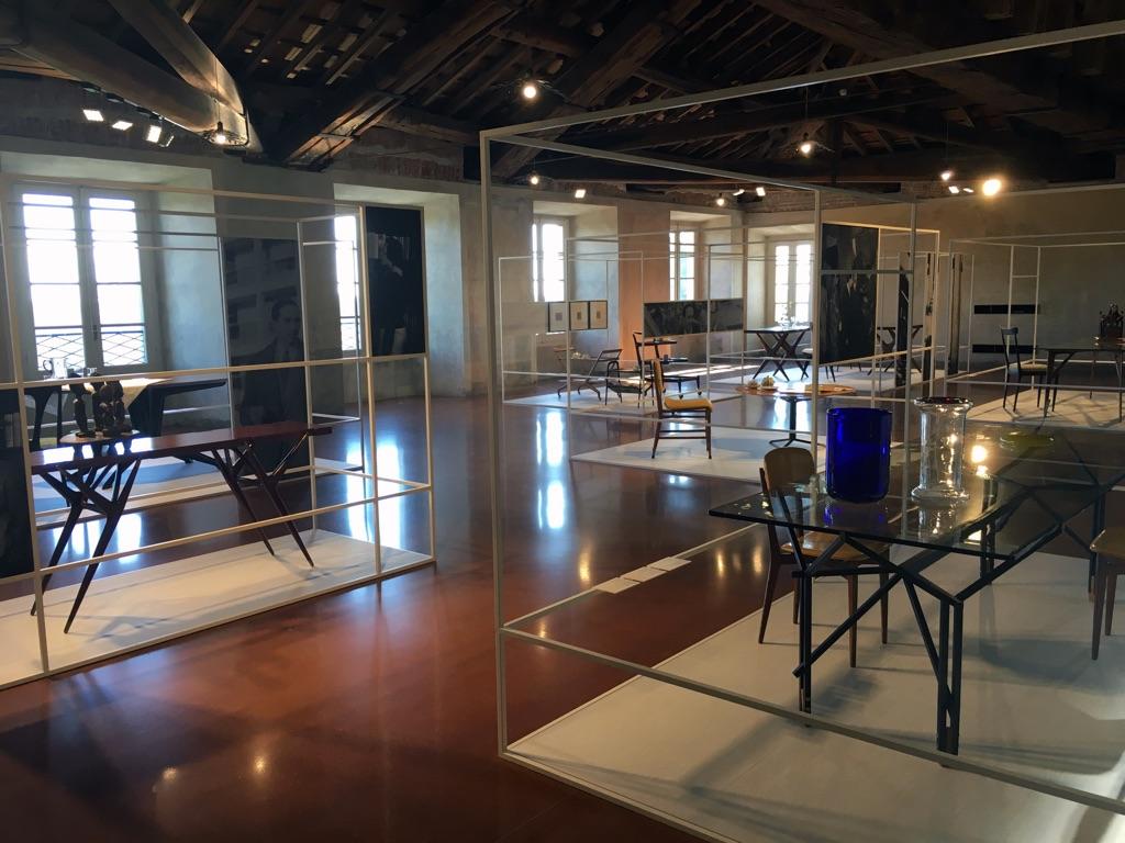 Ritrovare Ico Parisi. Exhibition view at Villa Reale di Monza, 2017