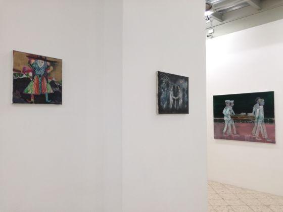 Robert Stone, Hated Nightfall. Exhibition view at Francesco Pantaleone Arte Contemporanea, Palermo 2017