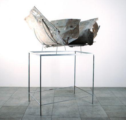 Rudolf Polanszky, Deformationsfaltung, Courtesy Galerie Konzett, Wien