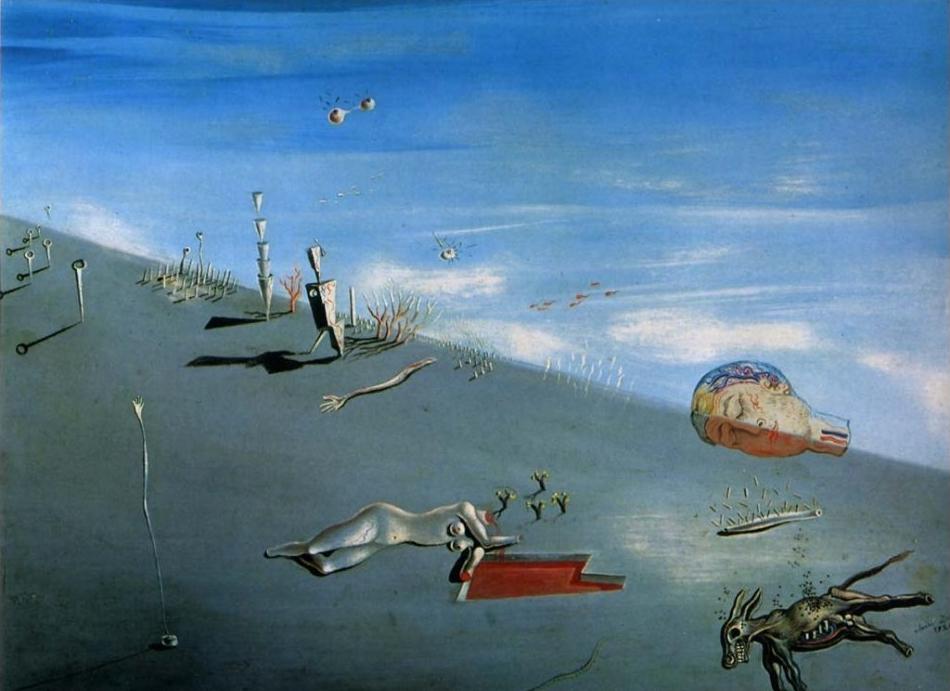 Salvador Dalí, Il Miele è più dolce del sangue, 1926