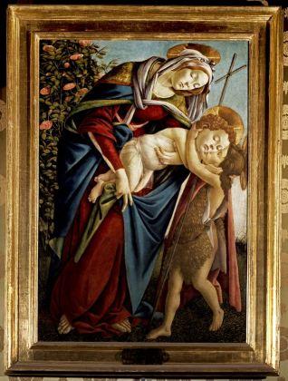 Sandro Botticelli, Firenze, Galleria Palatina, Madonna con Bambino