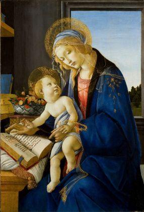 Sandro Botticelli, Milano, Poldi Pezzoli, Madonna del libro