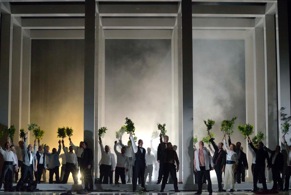 Tannhäuser di Richard Wagner con la regia di Callixto Bieito. Teatro La Fenice, Venezia 2017. Photo Michele Crosera