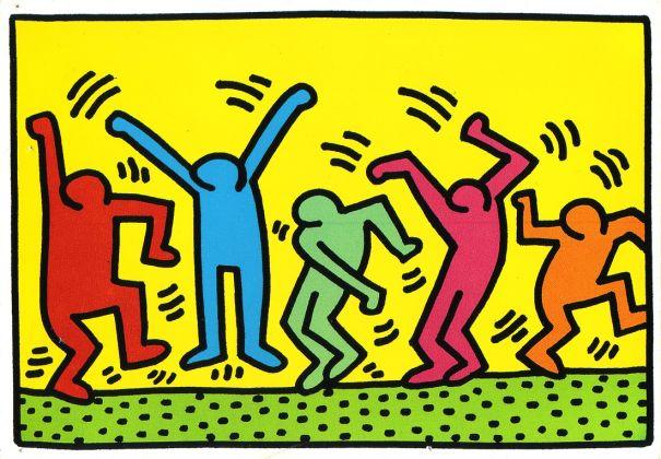 Un'opera di Keith Haring