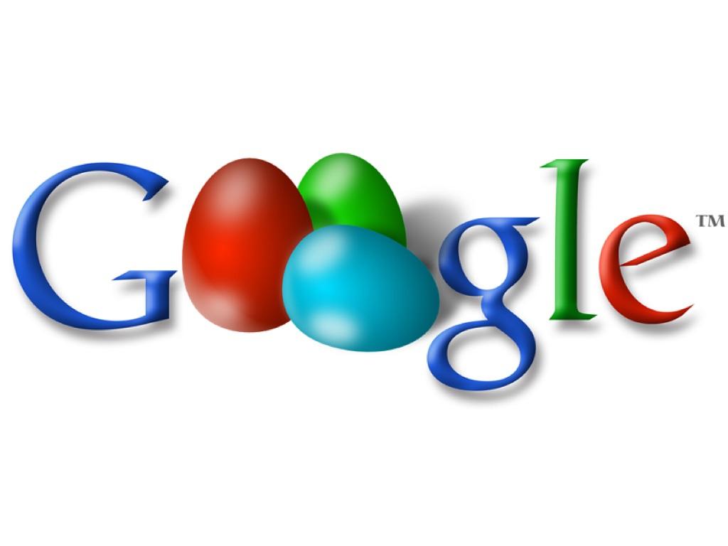 Uova di Pasqua targate Google