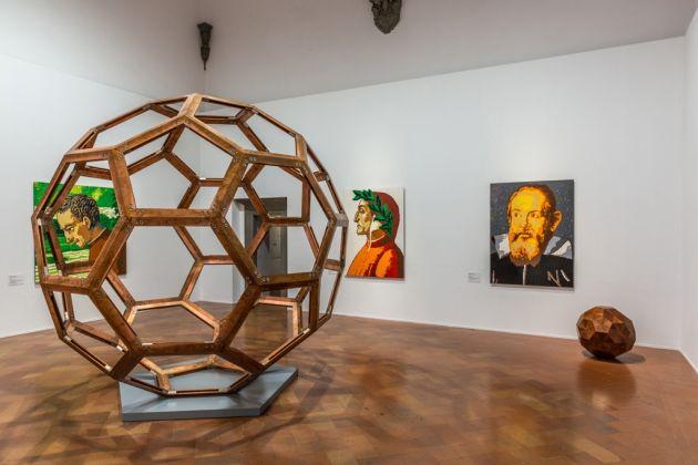 Veduta della mostra Ai Weiwei, Reframe, Palazzo Strozzi, 2016-17