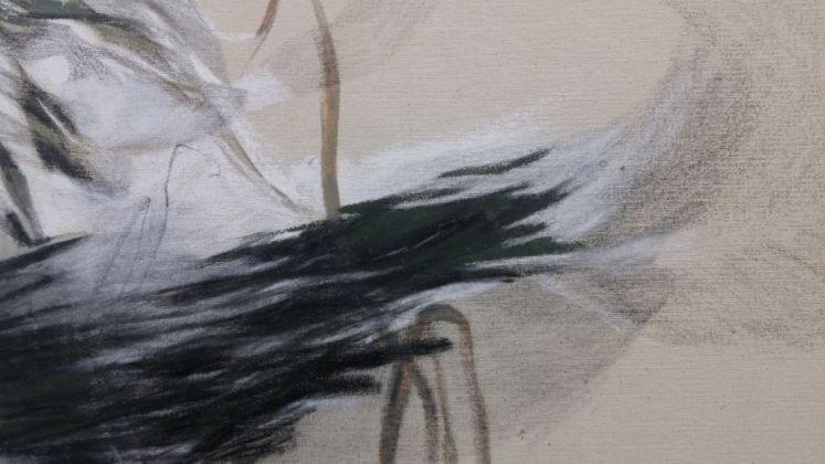 Veronica Paretta, Senza titolo, 2016. Tecnica mista su tela
