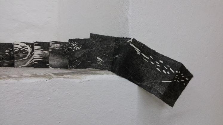 Veronica Paretta, Senza titolo, 2016. Xilografia su carta giapponese