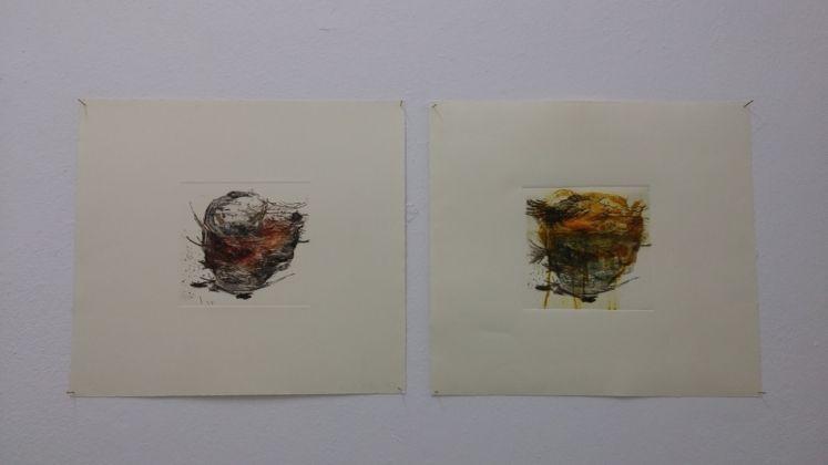 Veronica Paretta, Sublime lineam. Exhibition view at Galleria Macca, Cagliari 2017