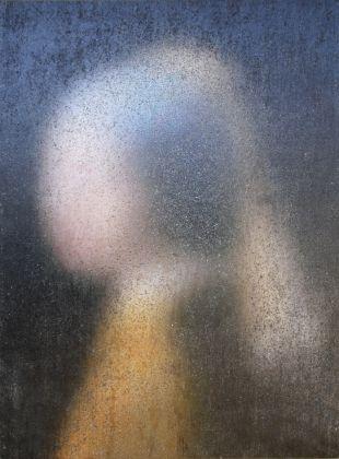 Vienna Art Fair 2017. Robert Bosisio, oT (Vermeer), Courtesy Galerie Martin Mertens, Berlin
