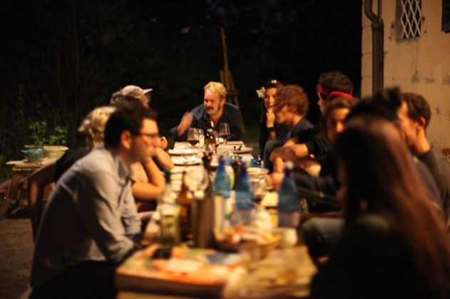 Villa Lena. Dinner. Photo Lewis Evans
