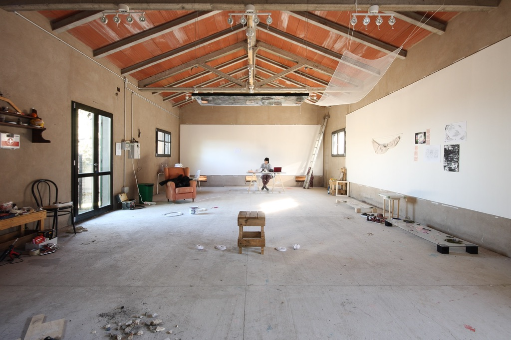 Villa Lena. Studio. Photo Tiberio Tzucchini