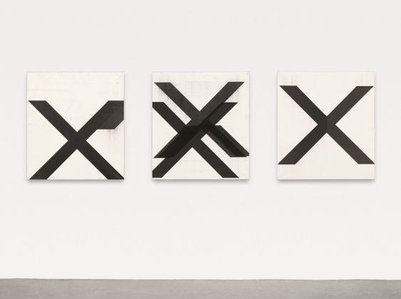 Wade Guyton, Untitled (trittico), 2007