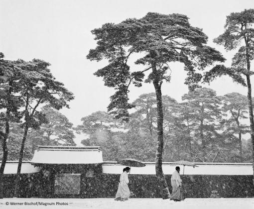 Werner Bischof, Courtyard of the Meiji shrine © Magnum Photos