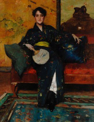 William Merritt Chase, A Comfortable Corner, 1888 ca., © Parrish Art Museum