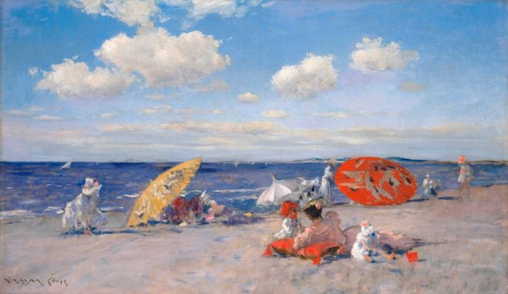 William Merritt Chase, At The Seaside, 1892 ca., © The Metropolitan Museum of Art