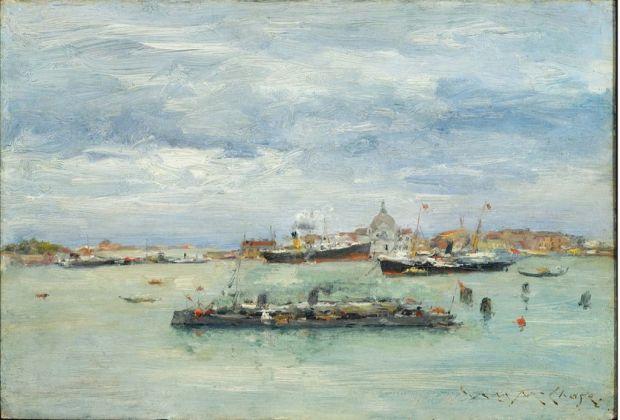 William Merritt Chase, Gray Day on the Lagoon, 1913 ca., © Museum of Fine Arts, Boston