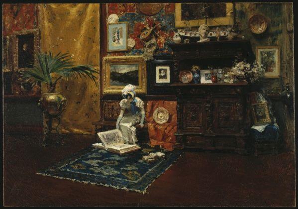 William Merritt Chase, Studio Interior, 1882 ca., © Brooklyn Museum