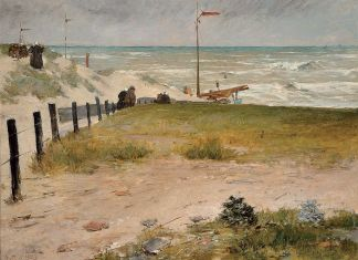 William Merritt Chase, The Coast of Holland, 1884, © Frye Art Museum