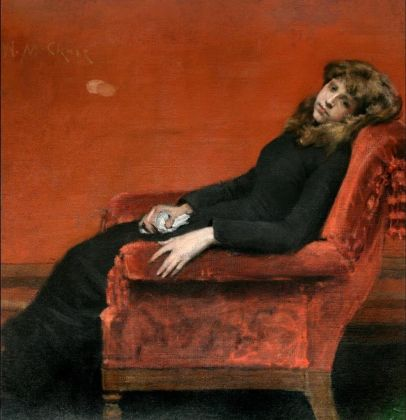 William Merritt Chase, The Young Orphan, 1884 ca., © National Academy Museum