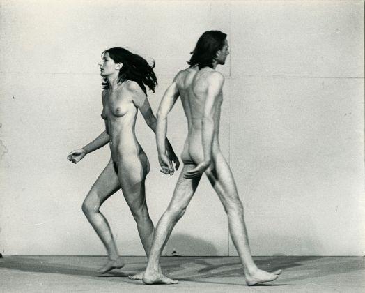 Ulay/Marina Abramović , Relation in Space, 1976 © Ulay/Marina Abramović/Bildupphovsrätt 2017 Photo: © Jaap de Graaf Courtesy of the Marina Abramović Archives