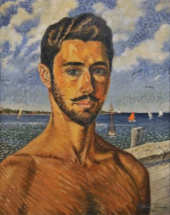 Albert Friscia, Ritratto di Uomo
