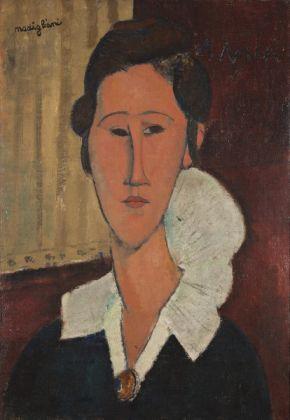 Amedeo Modigliani, Ritratto di hanka-zborowska