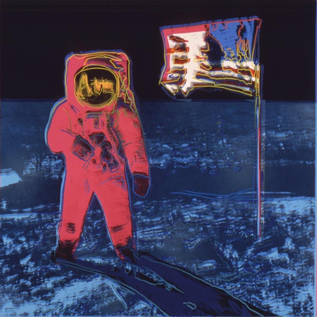 Andy Warhol, Moonwalk, 1987