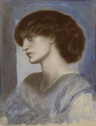Dante Gabriele Rossetti, Ritratto di Mrs. William Morris