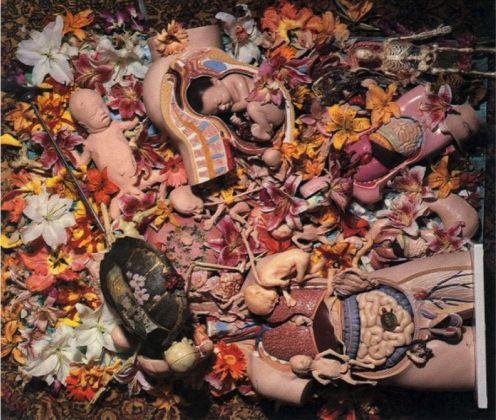 Kurt Cobain, collage di Inutero