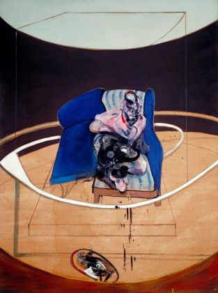 Francis Bacon (1909 - 1992) Study for Portrait on Folding Bed 1963