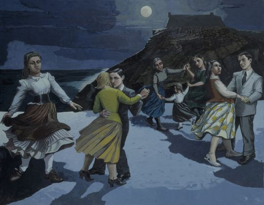 Paula Rego (1935) The Dance 1988 Acrylic on paper on canvas 212.6 x 274.0 cm Tate Gallery, London © Tate, London 2017 ©Paula Rego, Courtesy Marlborough Fine Art