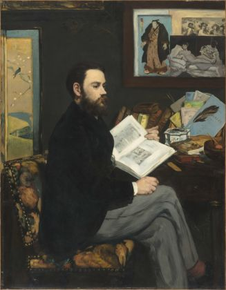 Édouard Manet, Émile Zola, 1868, olio su tela, 146 x 114 cm, Parigi, Musée d'Orsay © René-Gabriel Ojéda – RMN-Réunion des Musées Nationaux – distr. Alinari