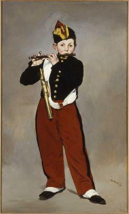 Édouard Manet, Il pifferaio, 1866, olio su tela, 161 x 97 cm, Parigi, Musée d'Orsay © René-Gabriel Ojéda – RMN-Réunion des Musées Nationaux – distr. Alinari