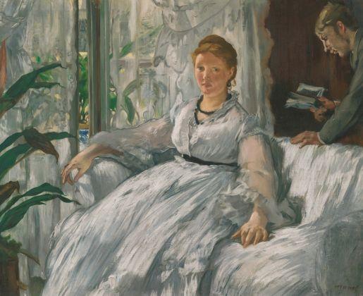 Édouard Manet, La lettura, 1865-1873, olio su tela, 61 x 73,2 cm, Parigi, Musée d'Orsay © René-Gabriel Ojéda – RMN-Réunion des Musées Nationaux – distr. Alinari