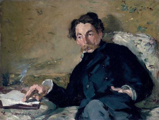 Édouard Manet, Stéphane Mallarmé, 1876, olio su tela, 27,2 x 35,7 cm, Parigi, Musée d'Orsay © René-Gabriel Ojéda – RMN-Réunion des Musées Nationaux – distr. Alinari