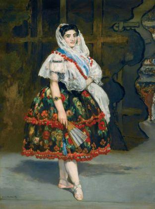 Édouard Manet Lola de Valence, 1862 Olio su tela, 123 x 92 cm Parigi, Musée d'Orsay © René-Gabriel Ojéda / RMN-Réunion des Musées Nationaux/ distr. Alinari