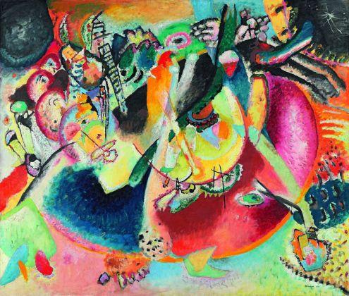 Vasilij Kandinskij, Improvvisazione sulle forme fredde, 1914. Olio su tela, cm 119 x 139 Mosca, Galleria Tret'jakov © State Tretyakov Gallery, Moscow, Russia