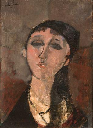Amedeo Modigliani, Testa di ragazza (Louise), 1915. Olio su tavola, 51,1 x 37,1. Triton Collection Foundation