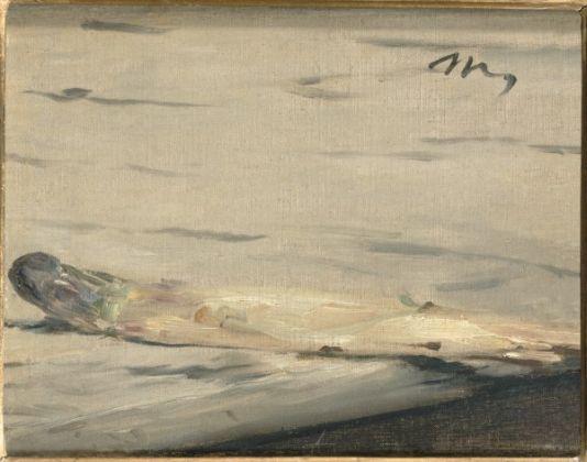Édouard Manet L'asparago, 1880 Olio su tela, 16,9 x 21,9 cm Parigi, Musée d'Orsay © René-Gabriel Ojéda / RMN-Réunion des Musées Nationaux/ distr. Alinari