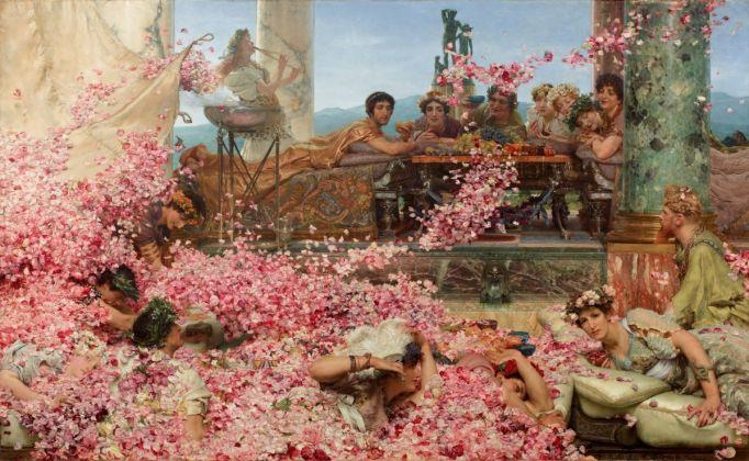 Lawrence Alma-Tadema, The Roses of Heliogabalus, 1888 (olio su tela, 132,7 x 214,4 cm), Colección Pérez Simón, Mexiko ©Piera, Arturo