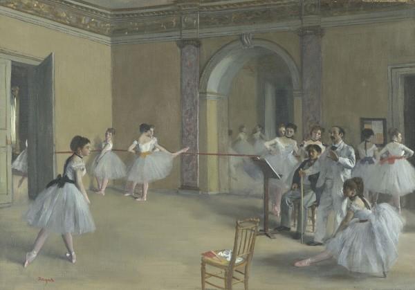 Edgar Degas Il foyer della danza al teatro dell'Opéra, 1872 Olio su tela, 32 x 46 cm Parigi, Musée d'Orsay © René-Gabriel Ojéda / RMN-Réunion des Musées Nationaux/ distr. Alinari