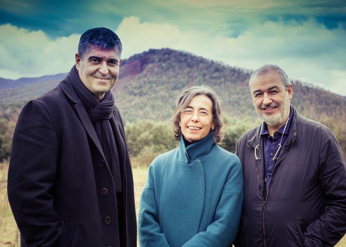 i tre architetti vincitori