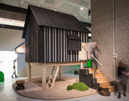 The Japanese House, Architecture and Life after 1945, Installation, Miles Willis, Getty Images