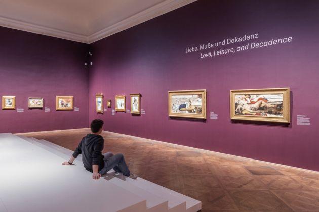 Lawrence Alma-Tadema, vista parziale della mostra © Belvedere, Vienna 2017