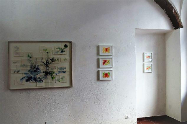 Ada Mascolo, Dissolvenze. Exhibition view at Galleria Febo e Dafne, Torino 2017