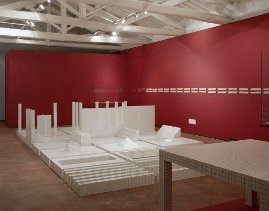 Adolfo Natalini Architettore. Installation view at Fondazione Ragghianti, Lucca 2002-03