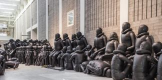 Ai Weiwei, Law of the Journey, National Gallery of Prague (foto National Gallery of Prague)